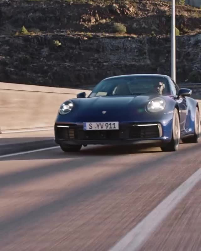 Watch and share Ready To Drive Into The Future? The Eight Generation Of The Porsche 911 Gets ... GIFs by Diamond Garden on Gfycat