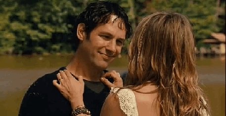 comedy, commune, jenniferaniston, paulrudd, romantic, wanderlust,  Kathy: A lot of magical things have happened since you walk GIFs