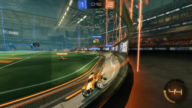 Watch and share Rocket League GIFs by t3chy9 on Gfycat