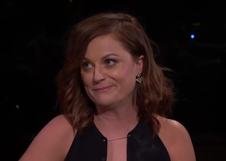 not amused, Amy Poehler glance GIFs