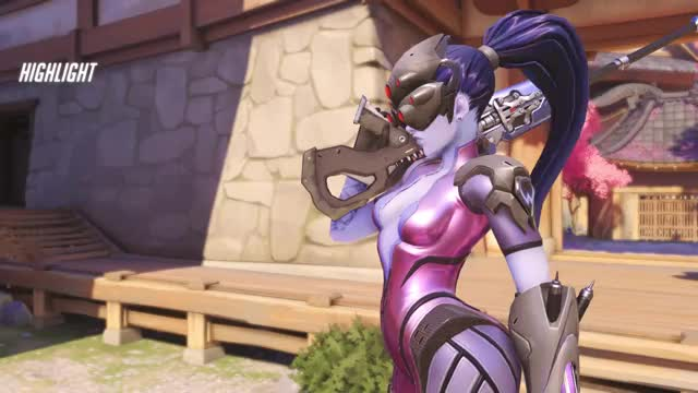 Watch lucky shot GIF by @catdad on Gfycat. Discover more overwatch, widowmaker GIFs on Gfycat