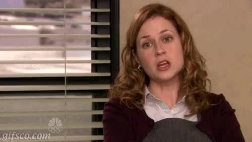 Watch and share Jenna Fischer GIFs and Yep GIFs on Gfycat