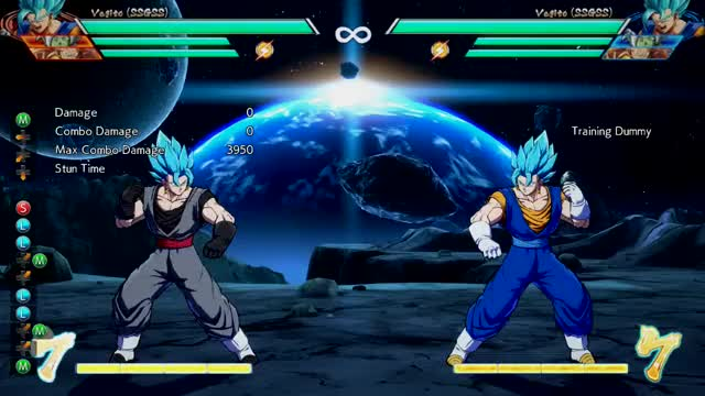 Watch Vegito 3.2k meterless knockdown GIF by FinngonTV (@finngon) on Gfycat. Discover more Dragon Ball FighterZ, dbfz GIFs on Gfycat