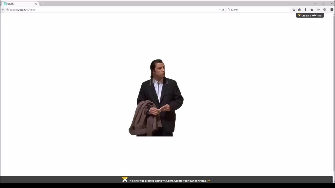 ConfusedTravolta, confusedtravolta, MRW I make a new website but don't know what to put in it. (reddit) GIFs