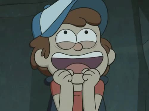anticipation, cant wait, dipper, excited, gravity falls, happy, yay, yes, Gravity Falls Dipper Excited GIFs