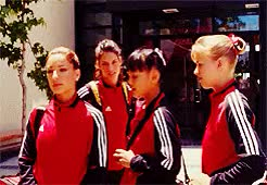 Watch and share Vanessa Lengies GIFs and Missy Peregrym GIFs on Gfycat