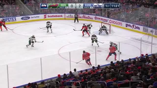 Watch and share Edmonton Oilers GIFs and Minnesota Wild GIFs by GAME OEUVRE on Gfycat