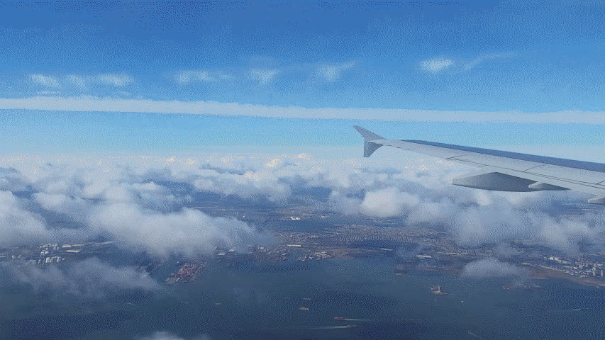 aviation, Timelapse Arrival in LGA Runway 22 GIFs