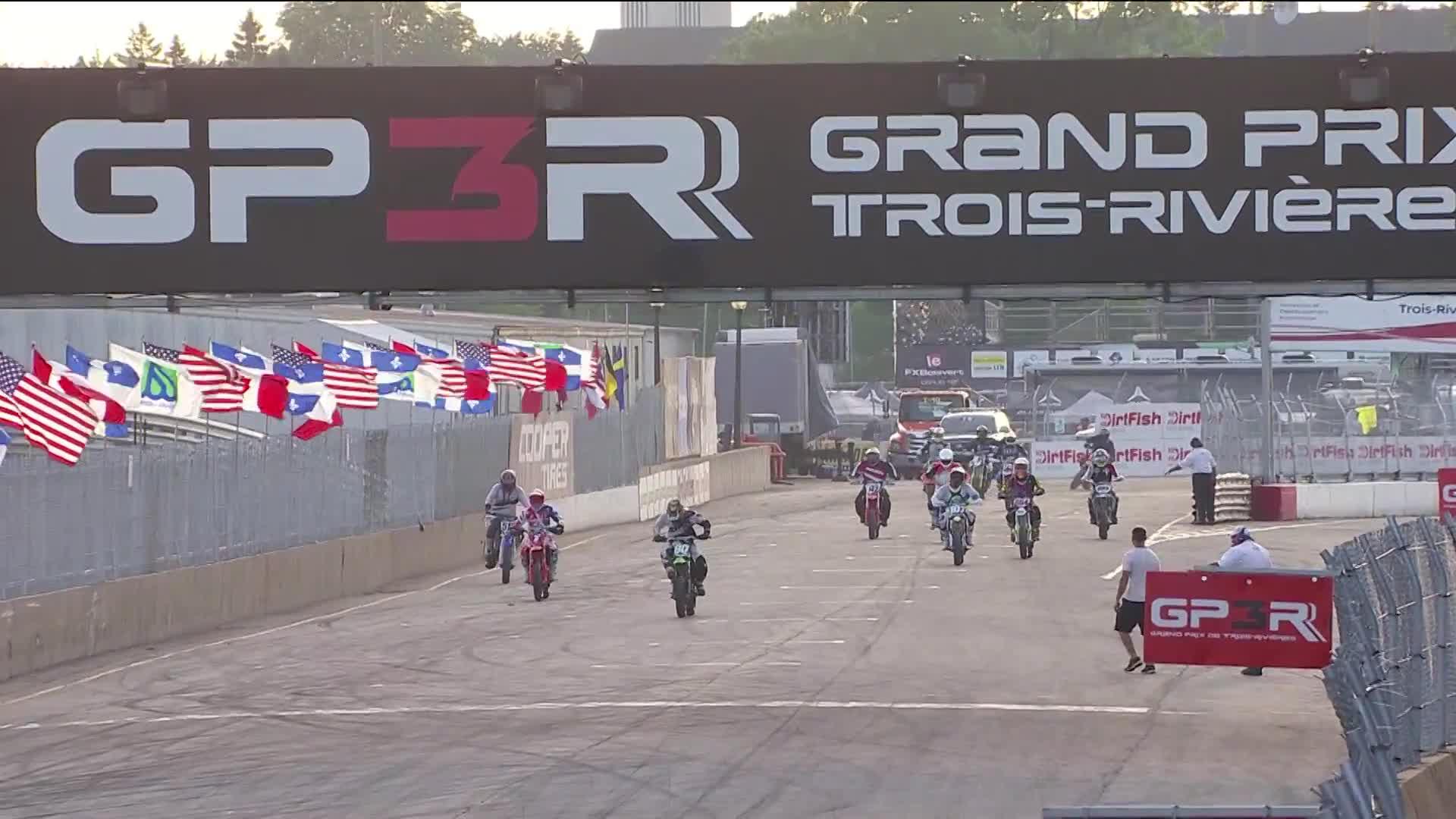 Autos & Vehicles, GP3R, Course 2 - AMA Supermoto - Dimanche 5 août 2018 - Grand-Prix de Trois-Rivières GIFs