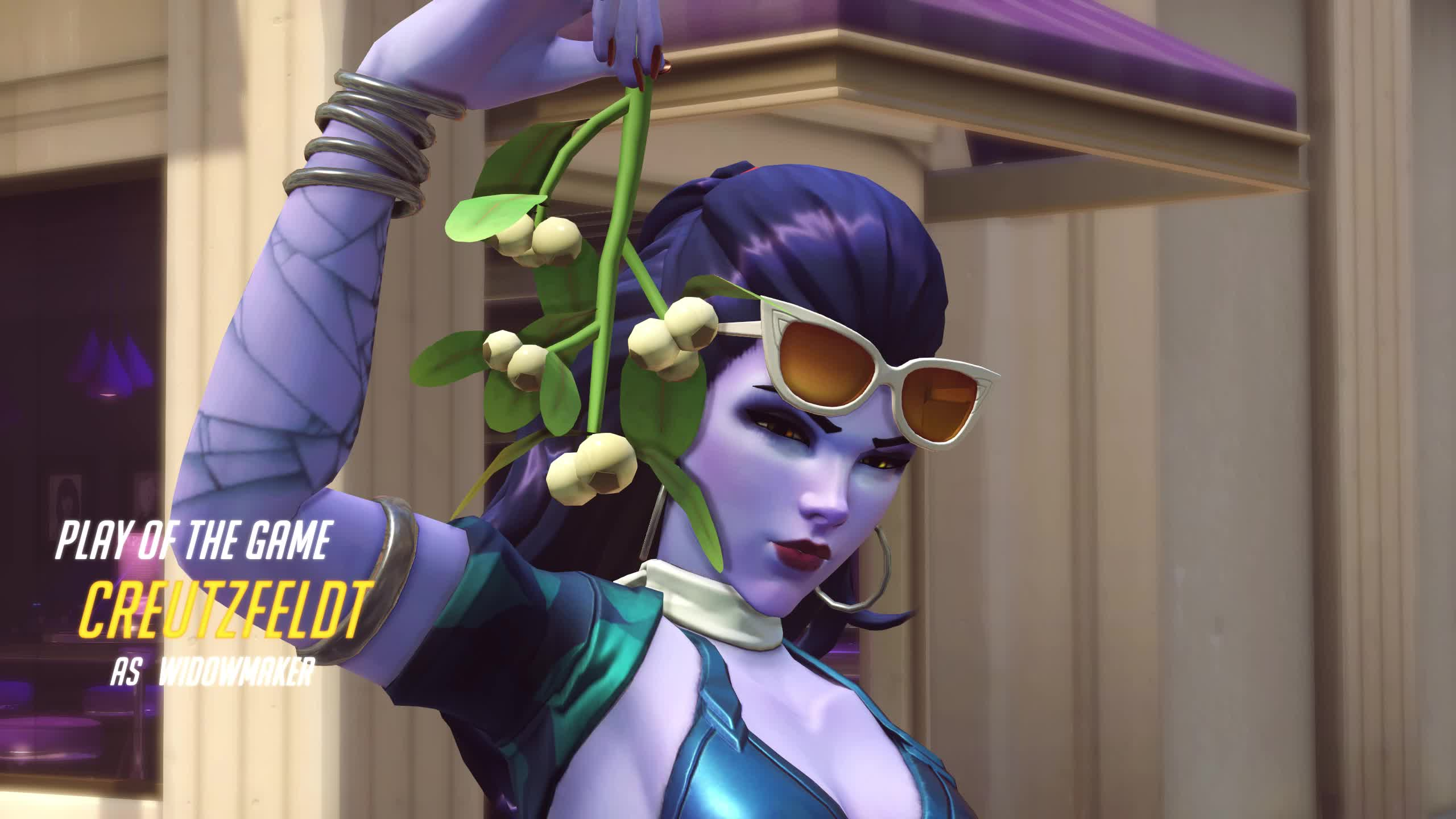 overwatch, widowmaker, Confused by terrain GIFs