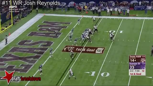 Watch and share WR Josh Reynolds Vs Kansas State 2016 GIFs on Gfycat