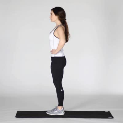 Watch 400x400 5 Lateral Pelvic Floor Exercises Standing Reverse Leg Raise GIF by Healthline (@dramirez) on Gfycat. Discover more related GIFs on Gfycat