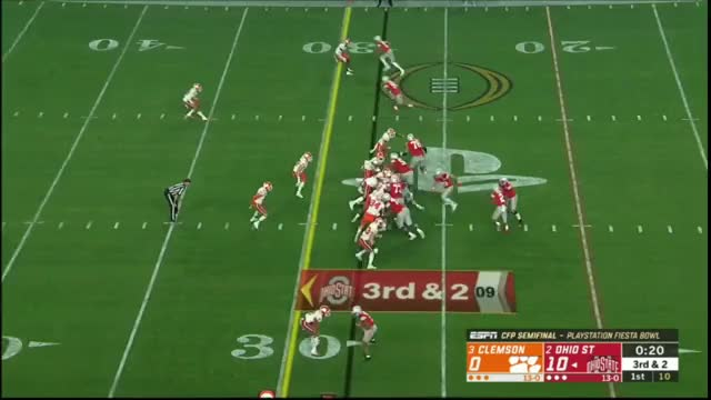 Watch and share Ohio State OL Vs Clemson DL 2019 (College Football Playoffs) GIFs by patrickmayhorn on Gfycat
