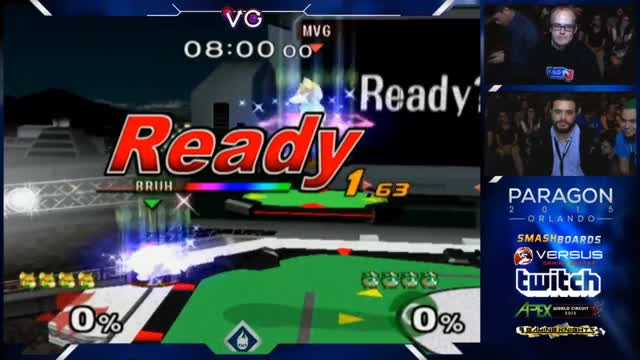 Paragon 2015 - Hungrybox double 4 Stocks Mew2King - Melee Grand Finals
