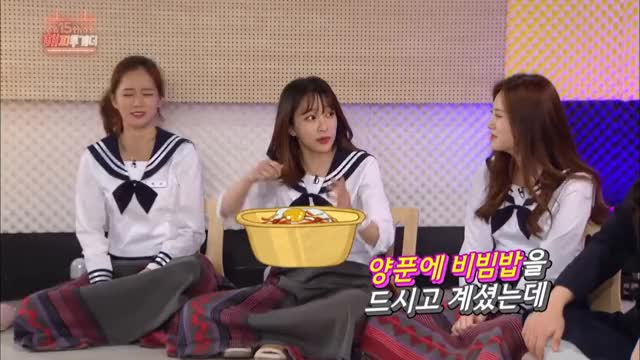 Watch and share Somi Went Up Against Her Mother And Got Hit By A Pan? [Happy Together / 2017.04.06] GIFs on Gfycat