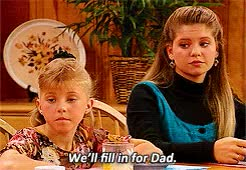 Watch and share Stephanie Tanner GIFs and Michelle Tanner GIFs on Gfycat