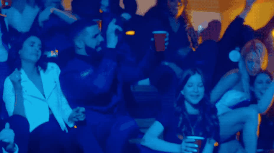 I'm, celebrate, dance, dancing, drake, drink, excited, exciting, girls, new, night, no, party, satuerday, sing, song, upset, weekend, yay, yo, Drake - I'm upset GIFs