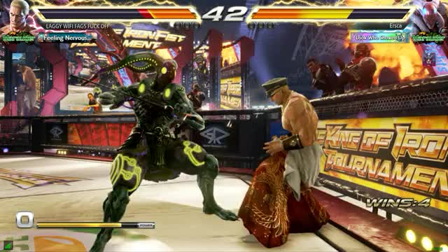 Watch Ass attack? GIF by Ersca (@erscade) on Gfycat. Discover more Geese, Tekken, Yoshimitsu GIFs on Gfycat