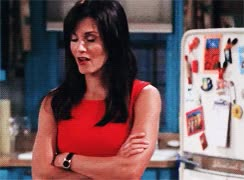 Watch and share Friends F.R.I.E.N.D.S Phoebe Buffay Monica Geller Courteney Cox Lisa Kudrow Stuff: Gif GIFs on Gfycat