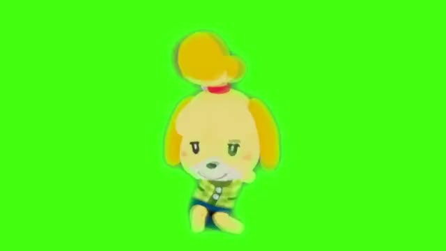 Watch Isabelle is reaching full power GIF on Gfycat. Discover more Mashup, SANS, SSBU, VideoGames, comedy, crossover, cute, dancing, fortnite, funny, gaming, isabelle, meme, nintendo, shizue GIFs on Gfycat