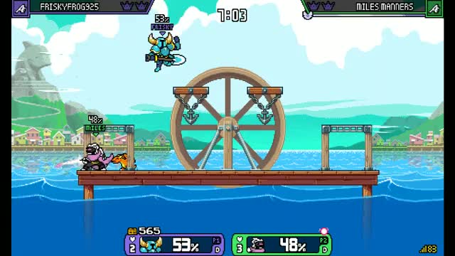 Watch and share Merchant Port GIFs and Shovel Knight GIFs by Miles Manners on Gfycat