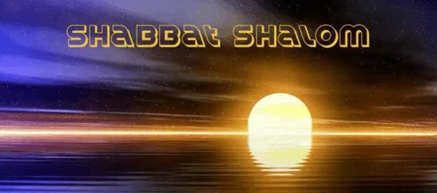 Watch and share Shabbat Shalom Sun Ripple GIFs on Gfycat