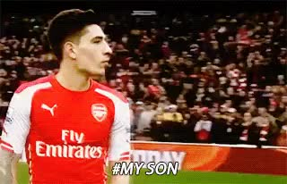 Watch and share Hector Bellerin GIFs on Gfycat