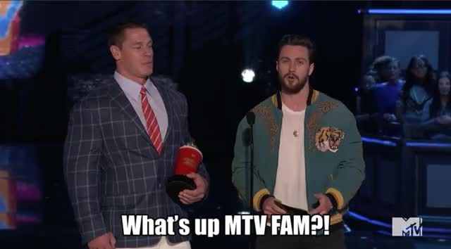 Watch this mtv awards GIF by GIF Reactions (@visualecho) on Gfycat. Discover more MTV Awards, MTVAwards, MTVAwards2017, john cena GIFs on Gfycat