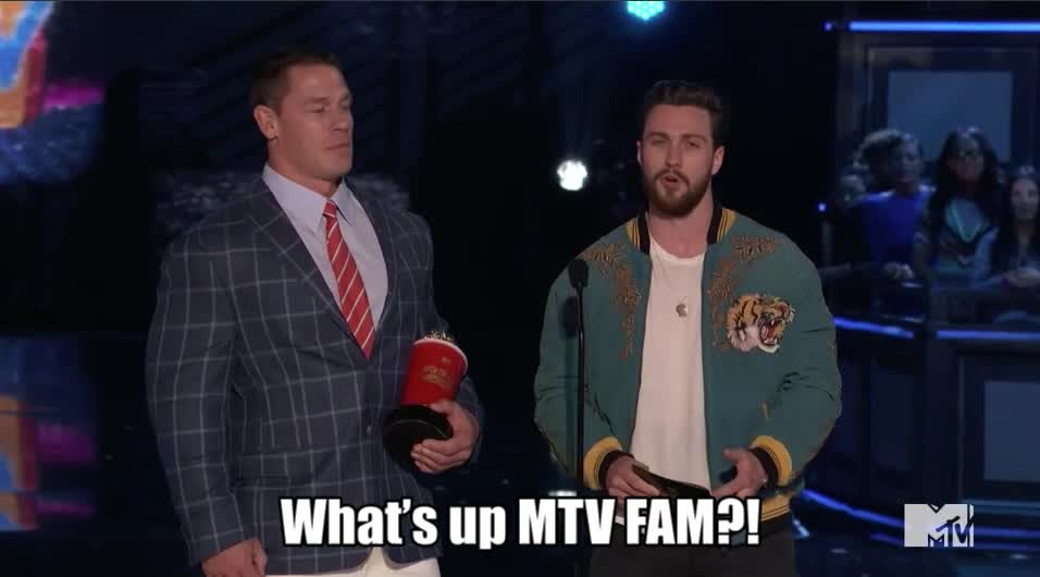 MTV Awards, MTVAwards, MTVAwards2017, john cena, What's up MTV FAM?! John Cena is