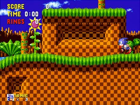 Watch Sonic the Hedgehog - Sega Genesis - The End GIF by @jefflasnuskgubbe on Gfycat. Discover more RetroGamePorn, gaminggifs GIFs on Gfycat
