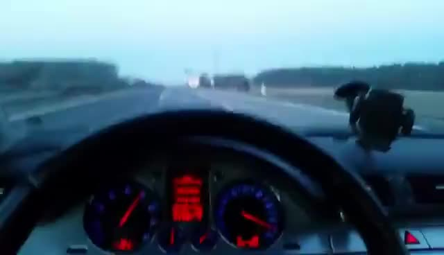 VW Passat B6 V6 FSI 4Motion Germany Autobahn GIFs