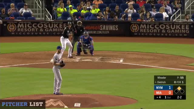 Watch 4th Dietrich SL CB GIF on Gfycat. Discover more Miami Marlins, New York Mets, baseball GIFs on Gfycat