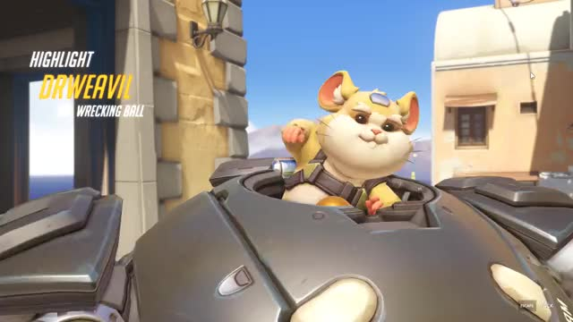 Watch hamster GIF by drweavil (@drweavil) on Gfycat. Discover more Drweavil, Gaming, highlight, overwatch GIFs on Gfycat