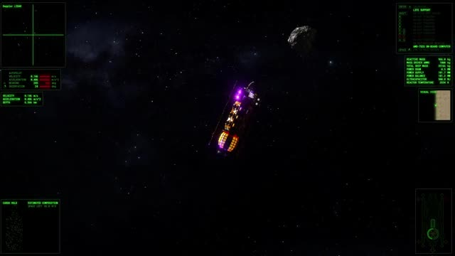 Watch ΔV: Rings of Saturn - EMP GIF by Kodera Software (@kodera) on Gfycat. Discover more deltav, game, gamedev, indie, indiedev, sci-fi, scifi, space GIFs on Gfycat