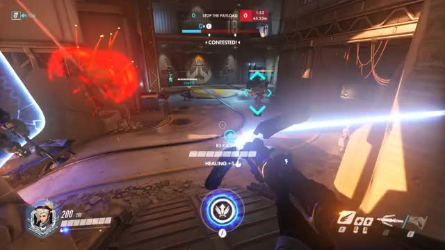 Watch and share Overwatch GIFs and Mercy GIFs by ehaydon on Gfycat