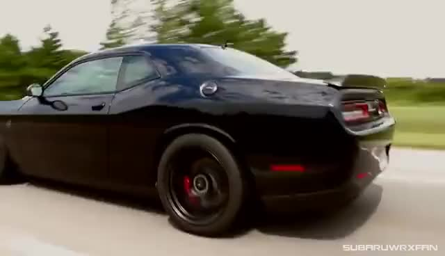 Watch and share Review: 2015 Dodge Challenger Hellcat GIFs on Gfycat