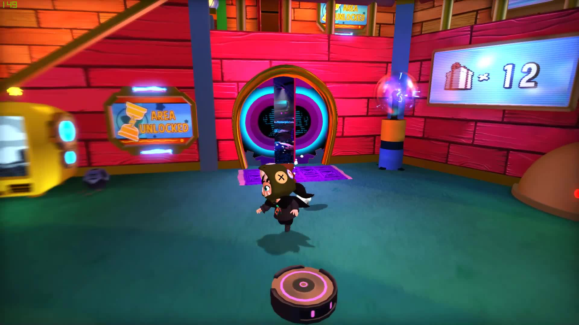 A hat in time, Hat, Hat in time, Spaceship surfing GIFs