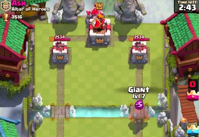 Watch and share Giant Vs Golem GIFs by Clash World on Gfycat