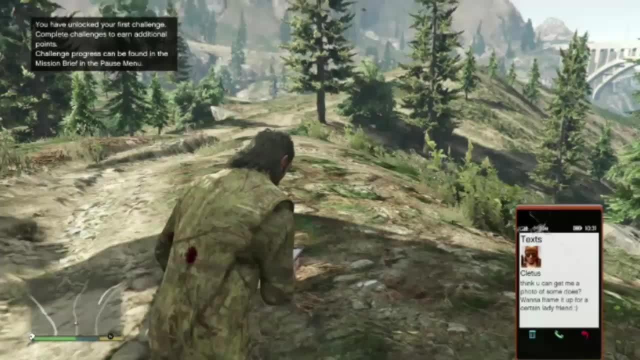 GTAgifs, gamephysics, gtagifs, [GTA V] Escaping elk escaped too hard (reddit) GIFs