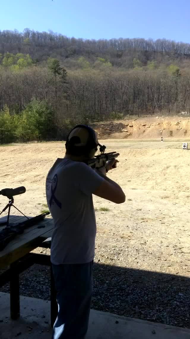 Watch and share Bumpfire GIFs and Guns GIFs by scottsvillesol on Gfycat