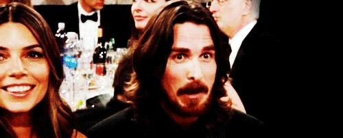 Christian Bale, amazed, amazing, holy cow, no way, whoa, woah, wow, Amazed Celeb GIFs