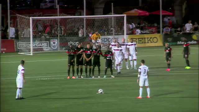 Watch Junior Burgos free kick GIF on Gfycat. Discover more North American Soccer League (Football League), soccer GIFs on Gfycat