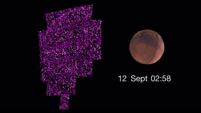 Watch and share Global Aurora On Martian Surface - September 2017 GIFs by The Watchers on Gfycat