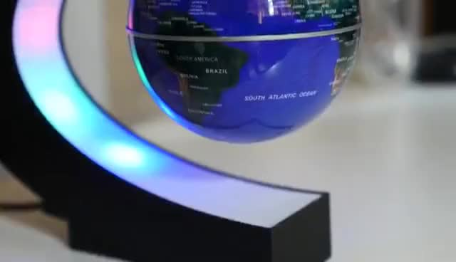 Watch and share Levitating LED Globe Impressions | 4K GIFs on Gfycat