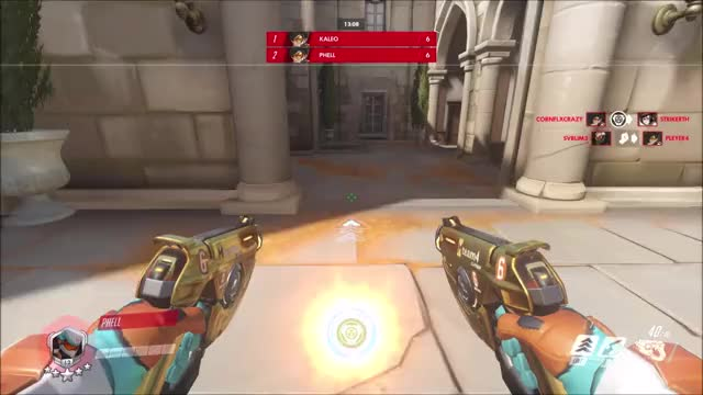 Watch 2000 IQ GIF by Phell (@xphell) on Gfycat. Discover more highlight, overwatch, tracer GIFs on Gfycat