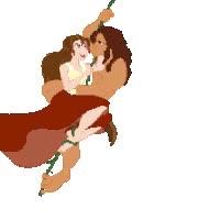 Watch Tarzan X Jane Animated GIF GIF on Gfycat. Discover more related GIFs on Gfycat