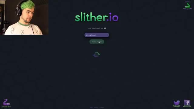 Watch and share JACKSEPTICEYE SKIN | Slither.io #6 GIFs on Gfycat