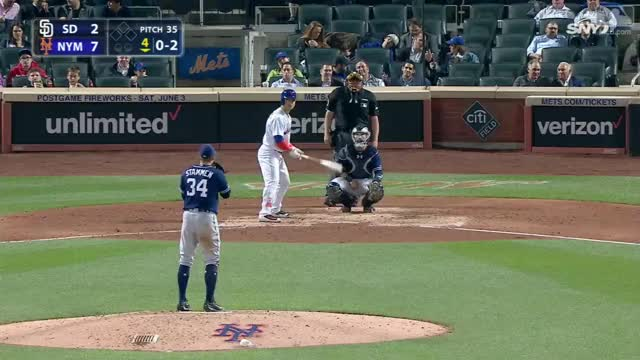 Watch and share Conforto's Second Homer Of Game GIFs by Baseball America on Gfycat