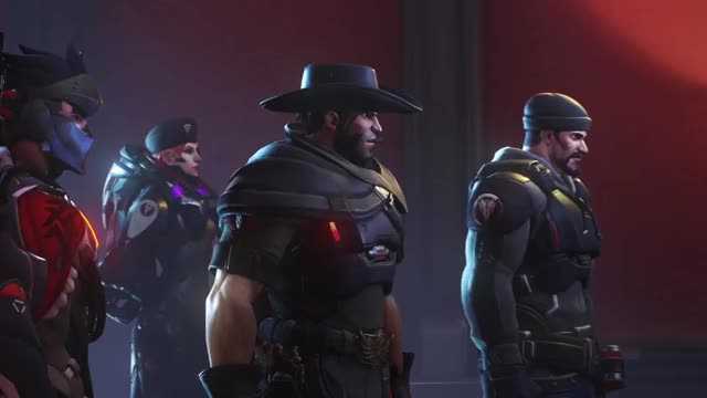 Watch and share Overwatch Retribution Cinematics - Overwatch Archives Event GIFs on Gfycat