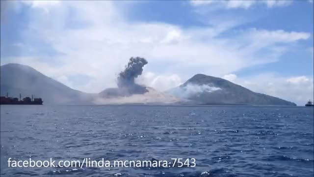 Watch and share Volcano GIFs and Clouds GIFs by Vinegret on Gfycat